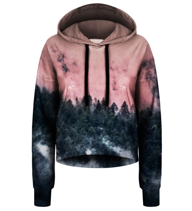 Forest cropped hoodie Thumbnail 1