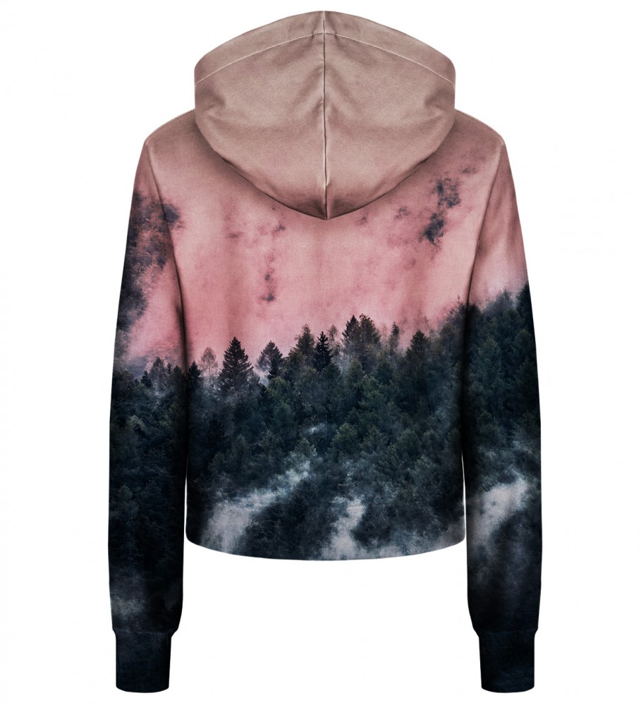 Bittersweet Paris, Forest cropped hoodie Image $i