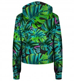 Bittersweet Paris, Tropical Colors cropped hoodie Thumbnail $i