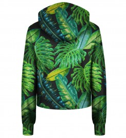 Bittersweet Paris, Tropical cropped hoodie Thumbnail $i