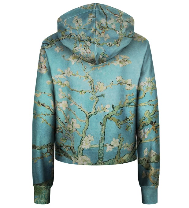 Almond Blossom cropped hoodie Thumbnail 2