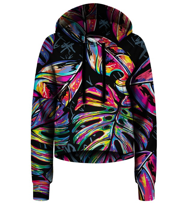 Full of Colors cropped hoodie Thumbnail 1