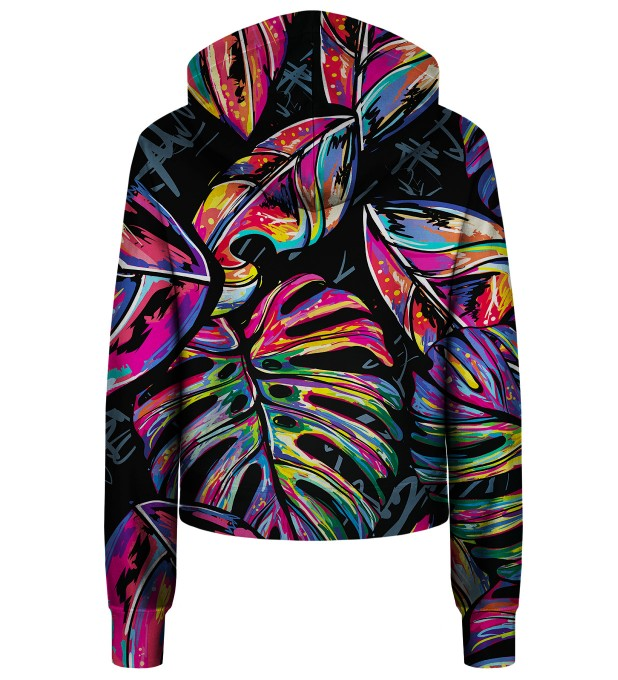 Full of Colors cropped hoodie Thumbnail 2