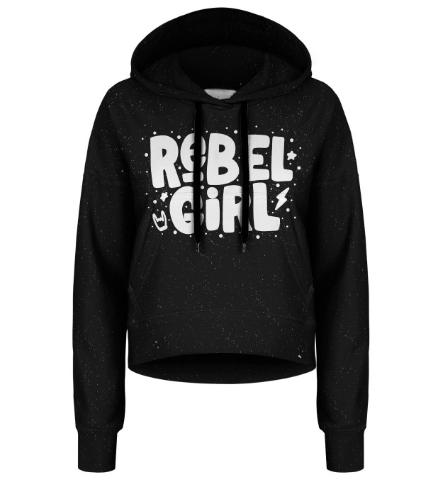 She's a rebel cropped hoodie Thumbnail 1
