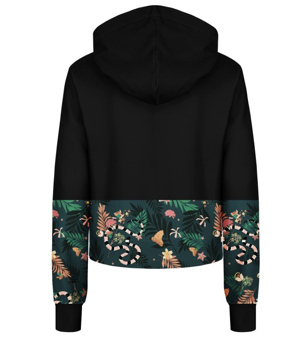 In the Jungle cropped hoodie Thumbnail 2