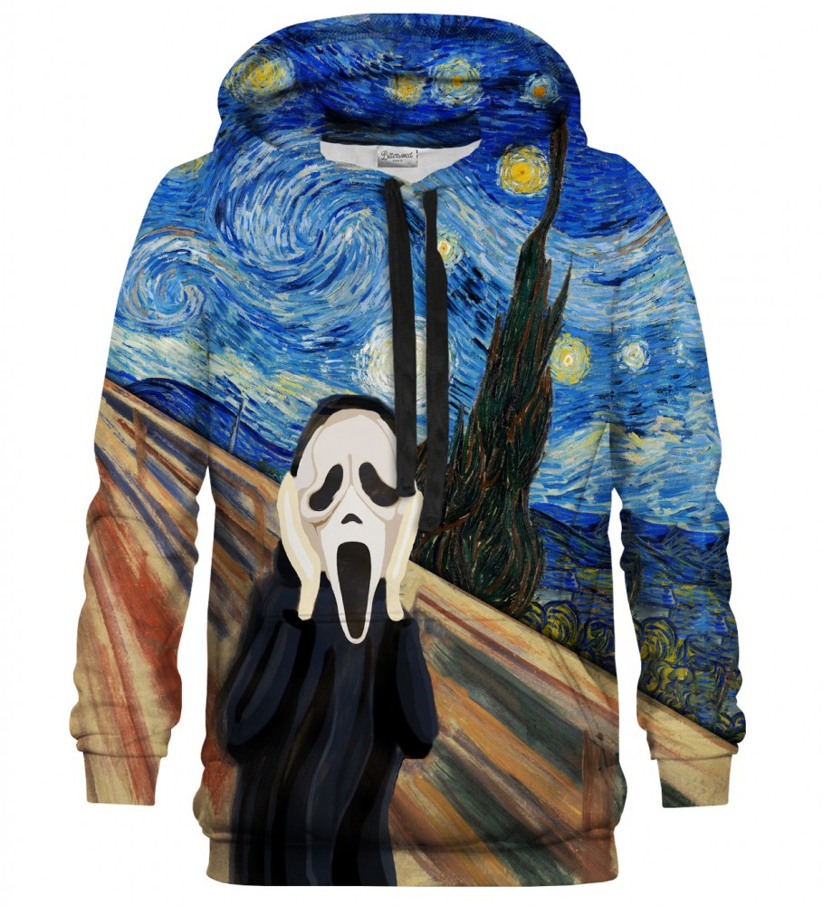 Bittersweet Paris, Real Scream hoodie Image $i
