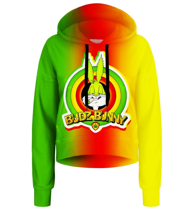 Bunny cropped hoodie Thumbnail 1