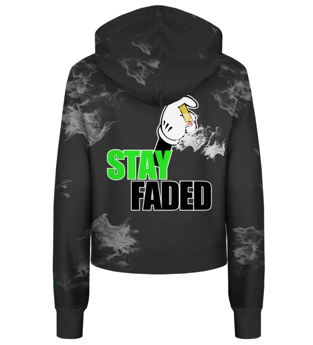 Stay Faded cropped hoodie Thumbnail 2