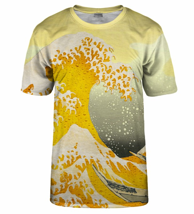 Great Wave of Beer t-shirt Miniaturbild 2