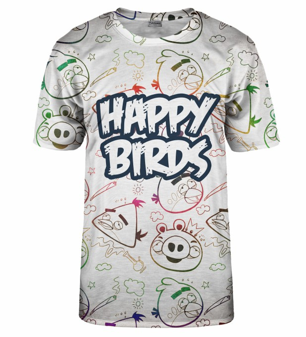 Happy Birds t-shirt Thumbnail 1