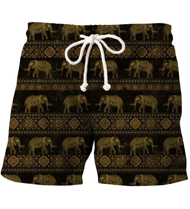 Golden Elephants swim shorts Thumbnail 1