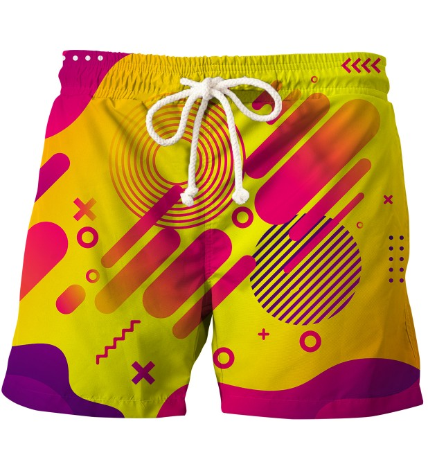 Tic Tac Toe swim shorts Thumbnail 1