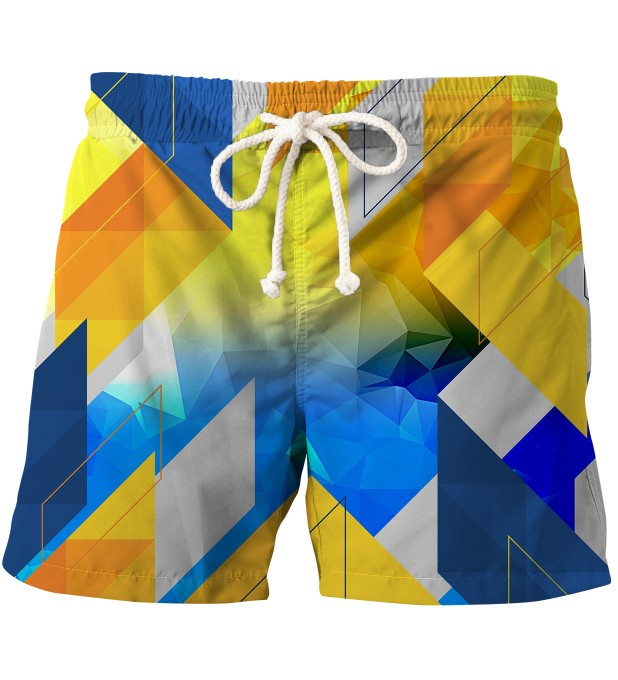 Geometry swim shorts Thumbnail 1