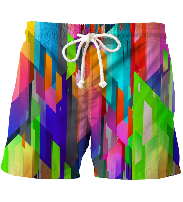 Geometric Explosion swim shorts Thumbnail 1