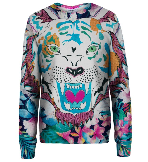 Flower tiger sweatshirt Thumbnail 1