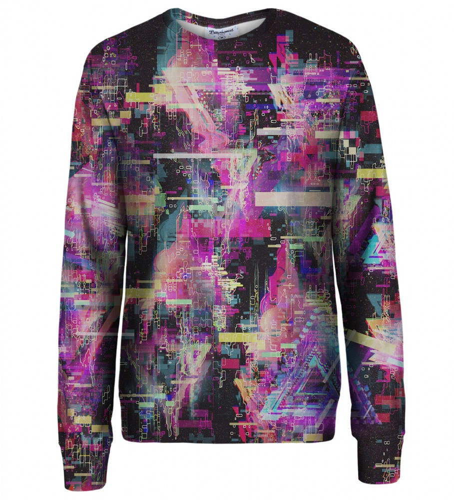 Bittersweet Paris, Total Glitch sweatshirt Image $i