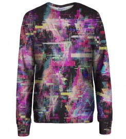 Bittersweet Paris, Total Glitch sweatshirt Thumbnail $i