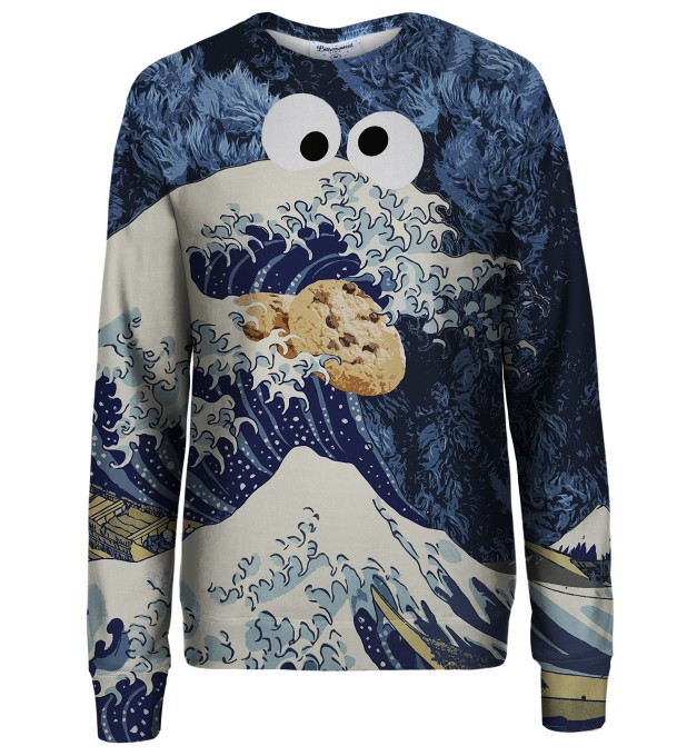 Wave of Cookies sweatshirt Thumbnail 1