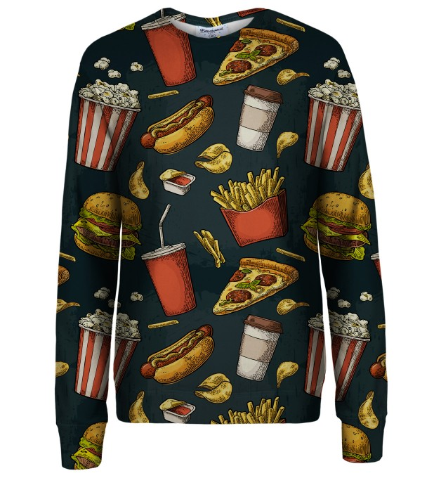 Fast Food sweatshirt Thumbnail 1