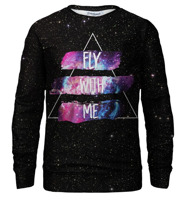 Fly with me sweatshirt Thumbnail 1