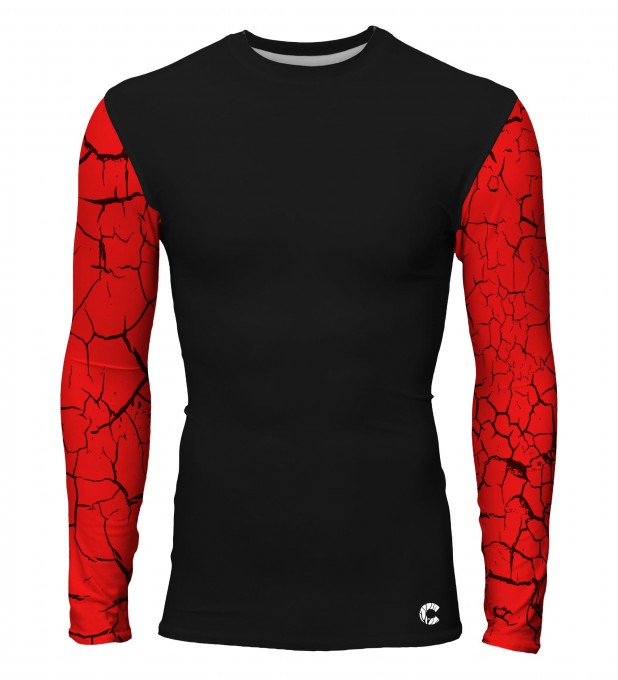 Red cracks rashguard Thumbnail 1