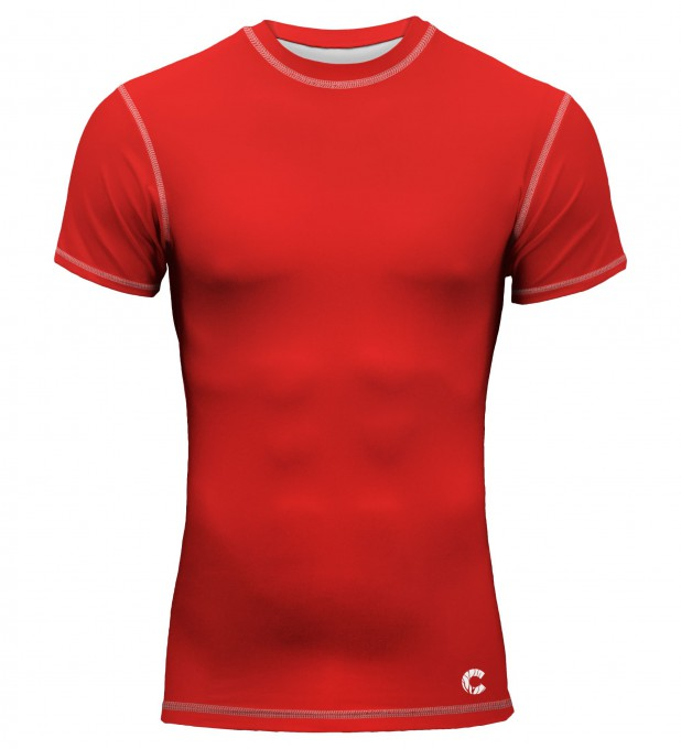 Red is red rashguard Thumbnail 1