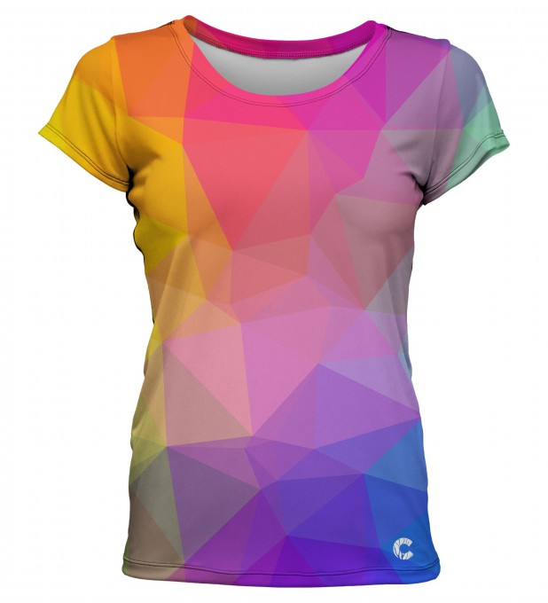 Triangles O-Neck T-Shirt Thumbnail 1