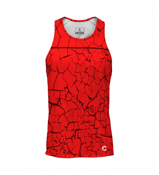 Red cracks tank-top Thumbnail 1
