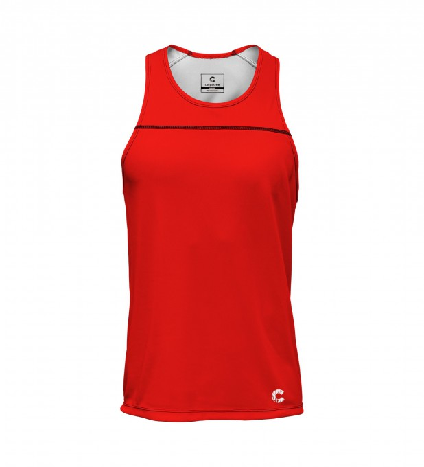 Red is red tank-top Thumbnail 1