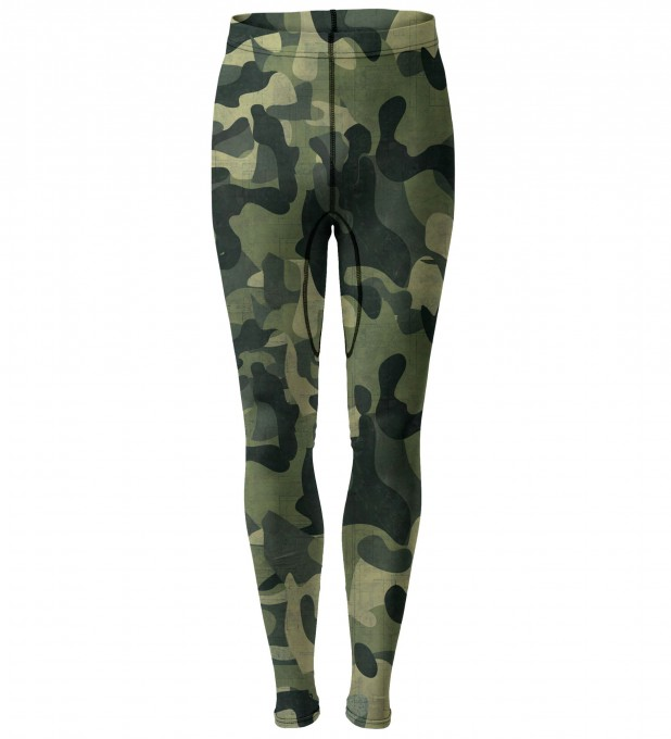 Green Camo Men's Tights Thumbnail 1