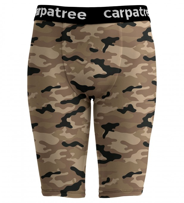 Sand Camo boxer tight short Thumbnail 1