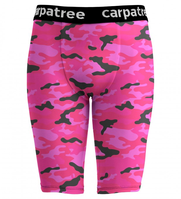 Pink Camo boxer tight short Thumbnail 1
