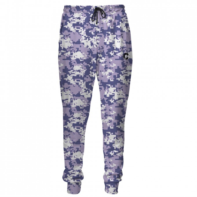 Digital Camo men's joggers Thumbnail 1
