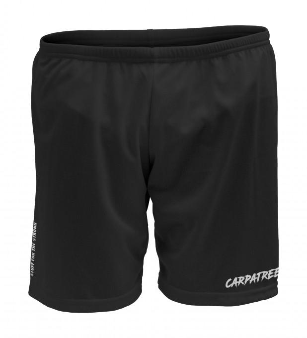 Black basic sport shorts Thumbnail 1