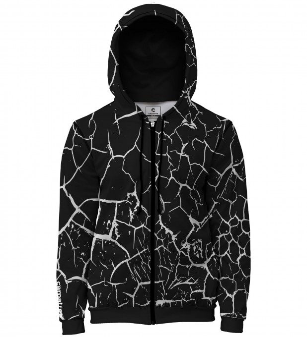 Cracks men's casual hoodie Thumbnail 1