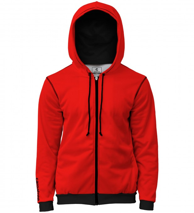 Red is red men's casual hoodie Thumbnail 1