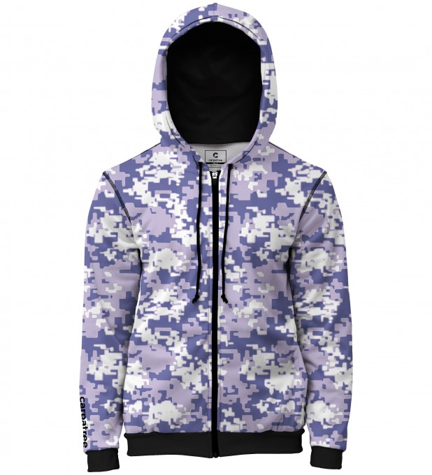 Digital Camo men's casual hoodie Thumbnail 1