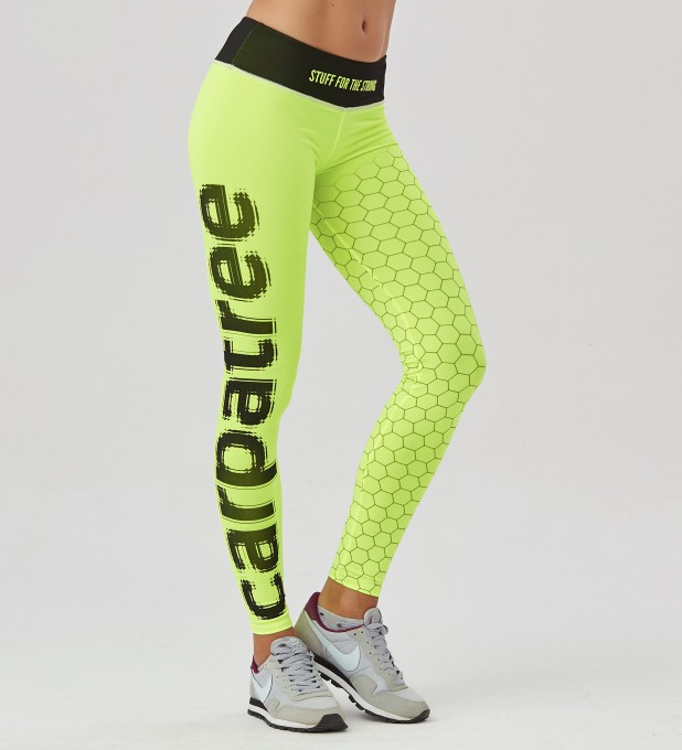 Fluo Green Hex Classic Leggings Thumbnail 1
