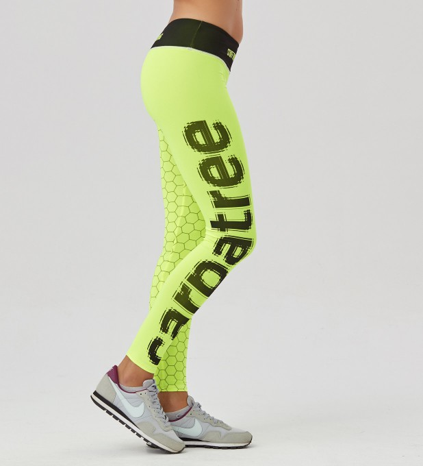 Fluo Green Hex Classic Leggings Thumbnail 2