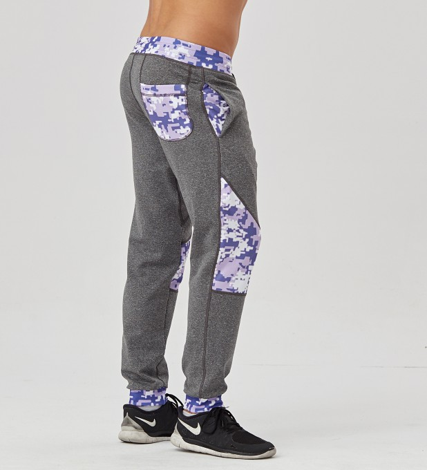 Digital Camo Patched Joggers Thumbnail 2