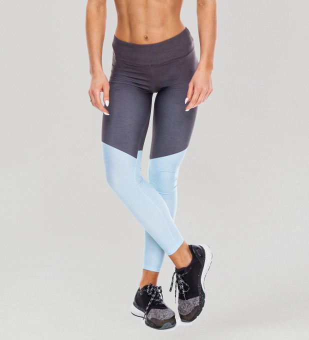 Tricolor Moonless Ocean Pastel Leggings  Thumbnail 1