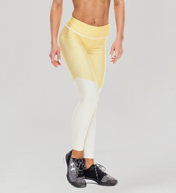 Twotone Lemonade Pastel Leggings  Thumbnail 1