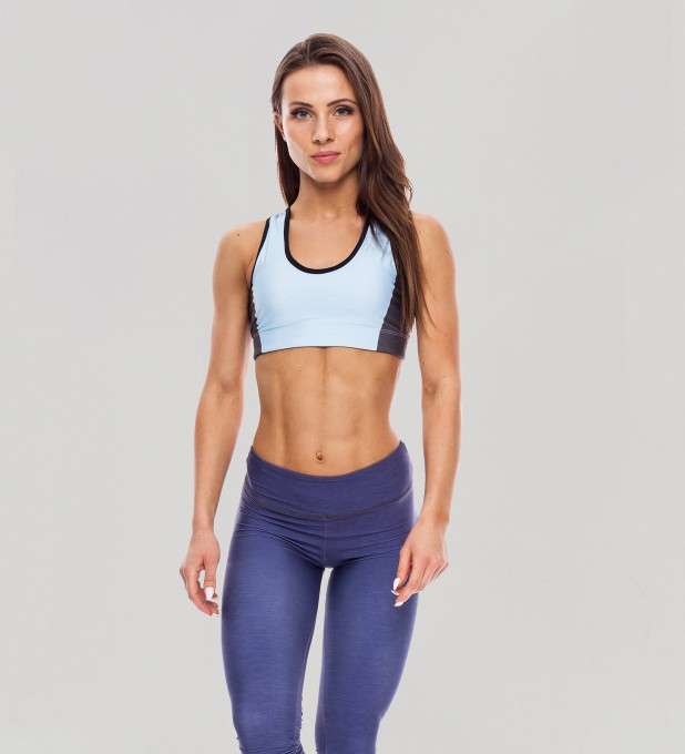 Twotone Skylight Pastel Sports Bra Thumbnail 1