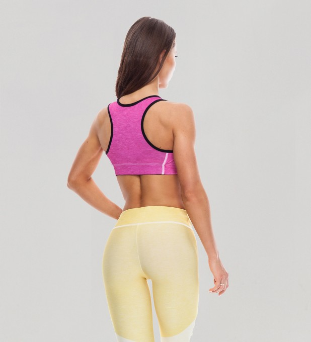 Bubblegum Pastel Sports Bra Thumbnail 2
