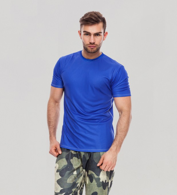 Electric Blue T-Shirt Thumbnail 1