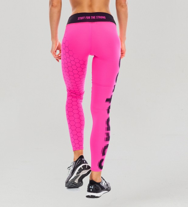 Fluo Pink Hex Classic Leggings Thumbnail 2