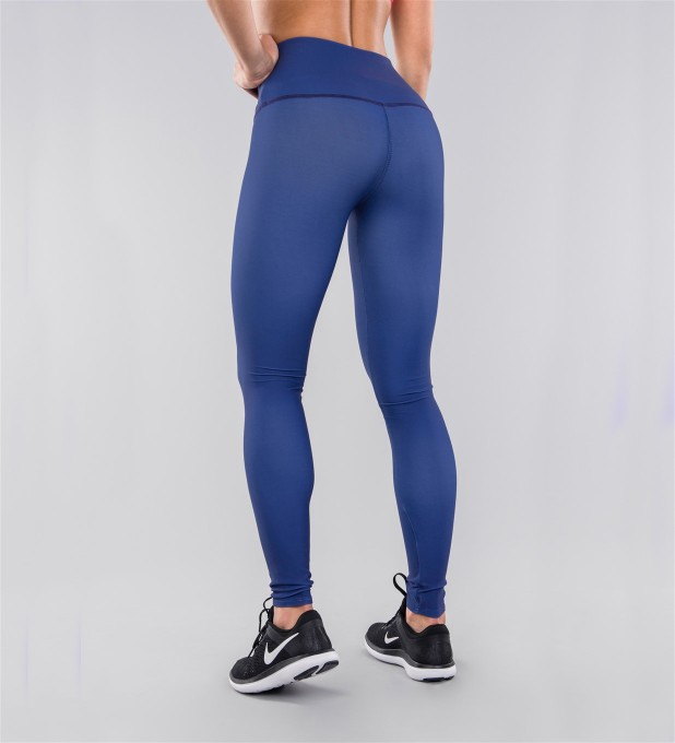 Full Navy Highwaist Leggings Thumbnail 2