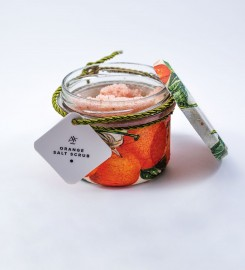 Carpatree, Orange Salt Scrub 200g Thumbnail $i