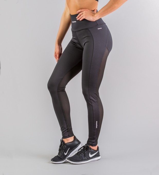 Hyperion Black Performesh Leggings Thumbnail 2