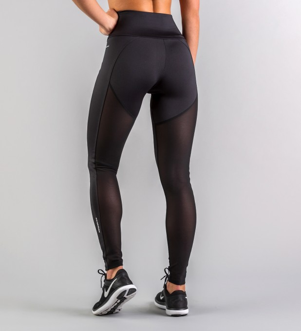 Hyperion Black Tulle Leggings Thumbnail 2
